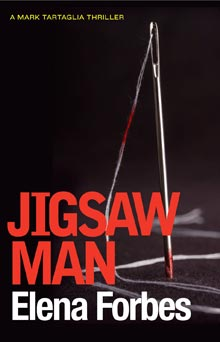Australian cover for Jigsaw Man by Elena Forbes